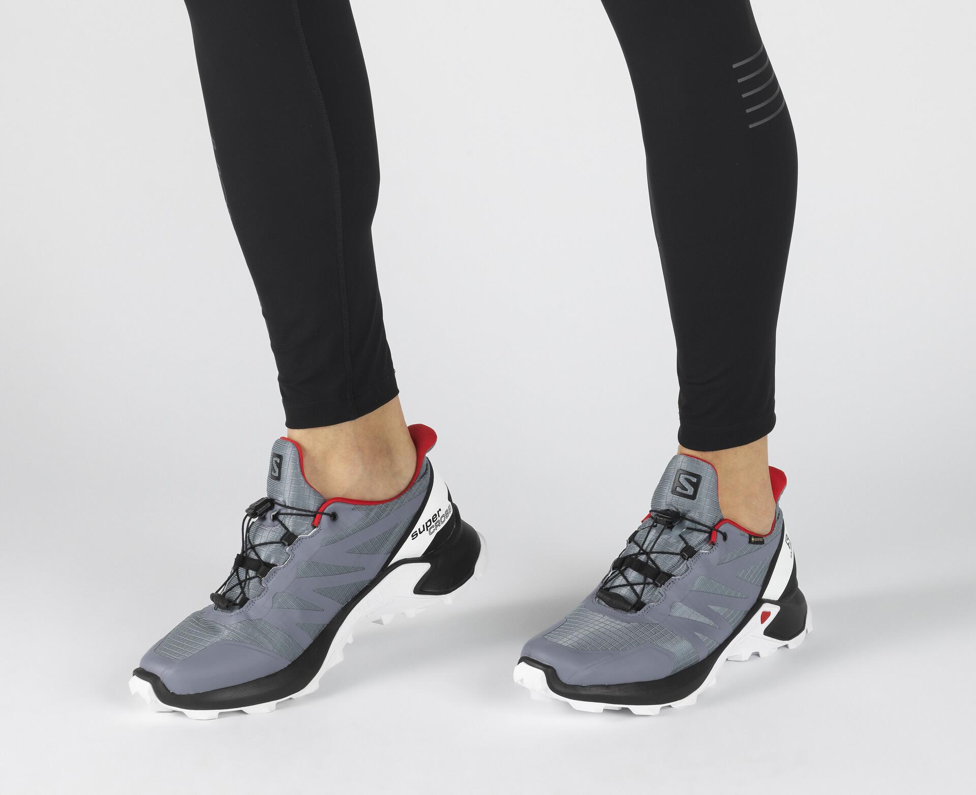Salomon Supercross GTX Shoes Men flint stoneblackhigh risk red